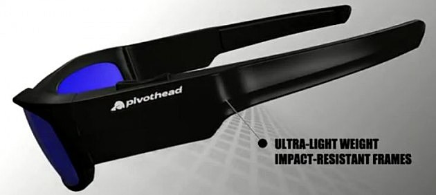 pivothead sunglasses side view