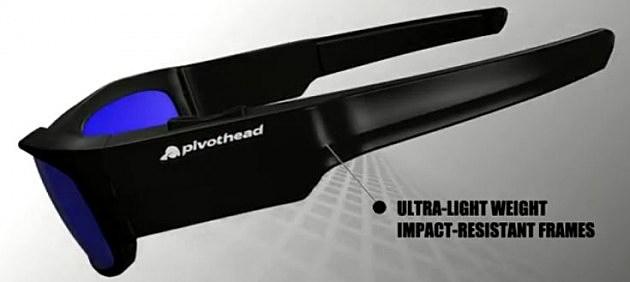 pivothead sunglasses side view
