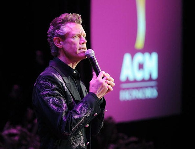 Randy Travis singing