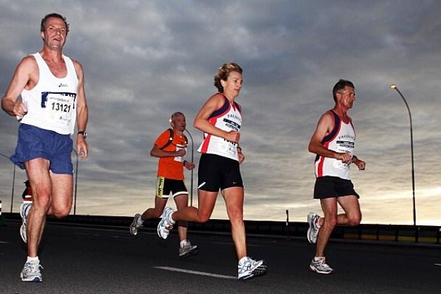 Competitors running