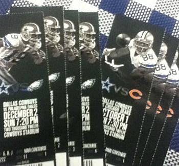 Dallas Cowboys Season Tickets
