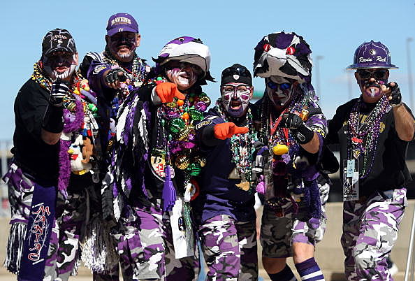 tailgaters dressed for the win