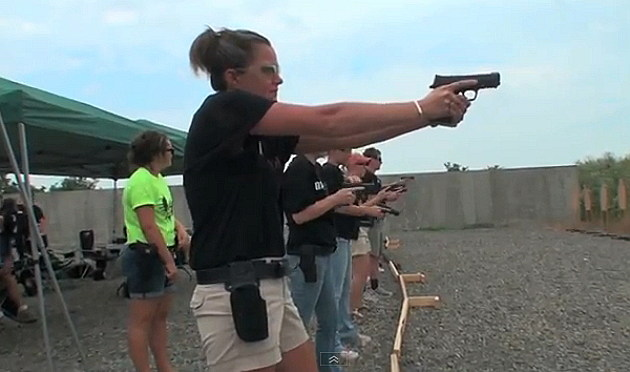 Babe with Bullets female shooter