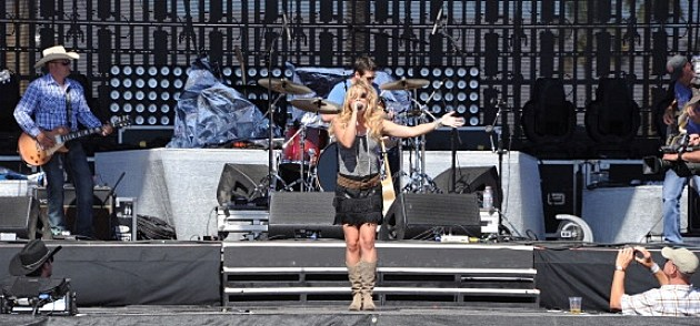 Musician Joanna Smith performs onstage during 2011 Stagecoach: California's Country Music Festival