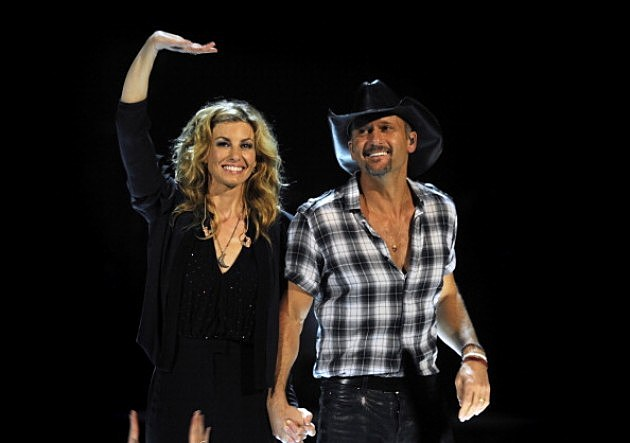 Faith Hill and Tim McGraw Perform in Melbourne