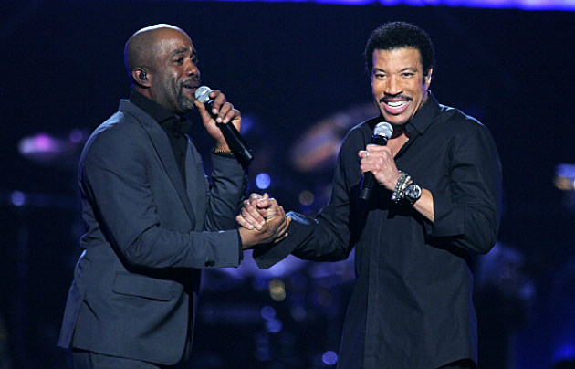 Darius Rucker and Lionel Richie