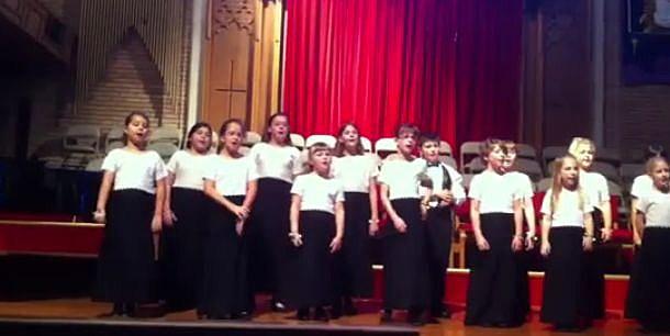 Chorus Abilene Children's chorus