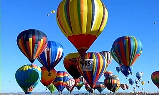 Hot Air Balloons over Abilene Texas