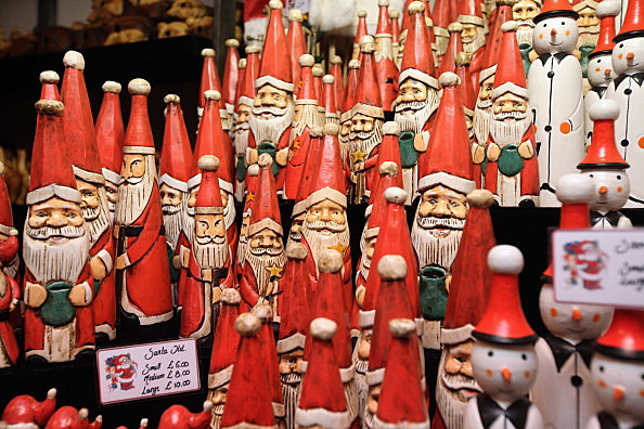 Visitors Enjoy the Christmas Market