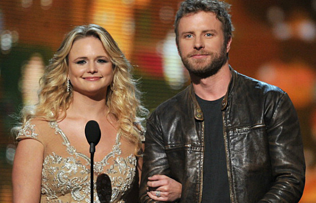 Miranda Lambert / Dierks Bentley at the 54th Annual Grammy Awards