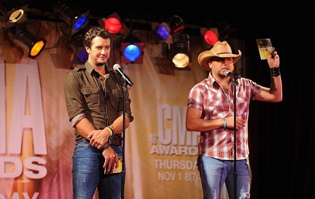 Luke Bryan and Jason Aldean Announce CMA Awards Nominations