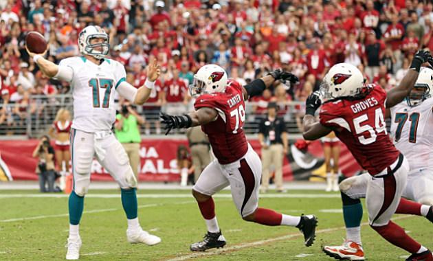 Dolphins Quarterback Ryan Tannehill