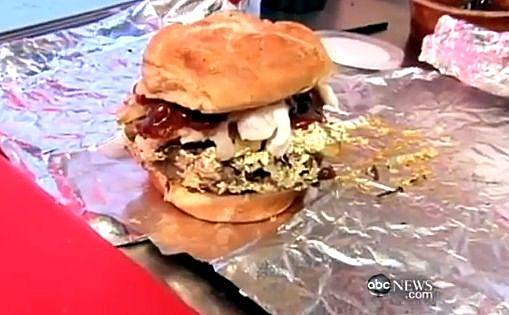 666 'Douche' burger