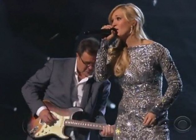 Carrie Underwood & Vince Gill perform How Great Thou Art