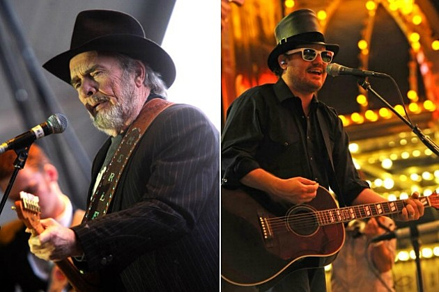 Merle Haggard and Randy Rogers, slated to co-headline the 3rd annual Outlaws & Legends Music Fest March 23, 2013