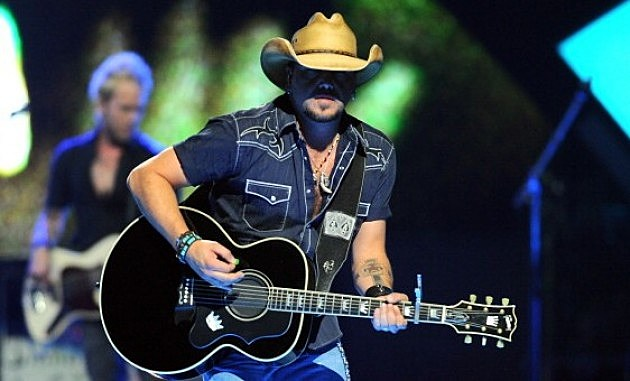 Jason Aldean performs onstage