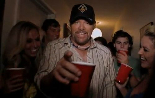 Toby Keith 'Red Solo Cup'
