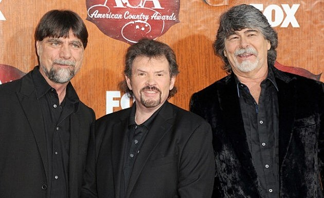 Musicians Teddy Gentry, Jeff Cook and Randy Owen of music group Alabama