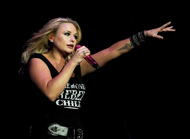 Miranda Lambert performs onstage