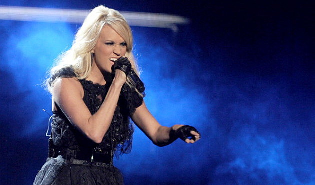Carrie Underwood performs onstage during the 40th American Music Awards