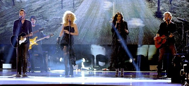 Little Big Town perform onstage