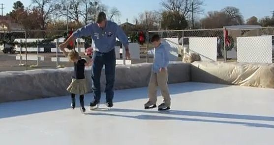 ice skating in brownwood