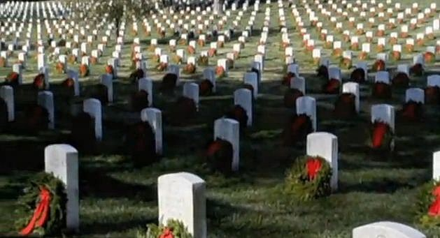 wreaths across america in Arlington, Virginia