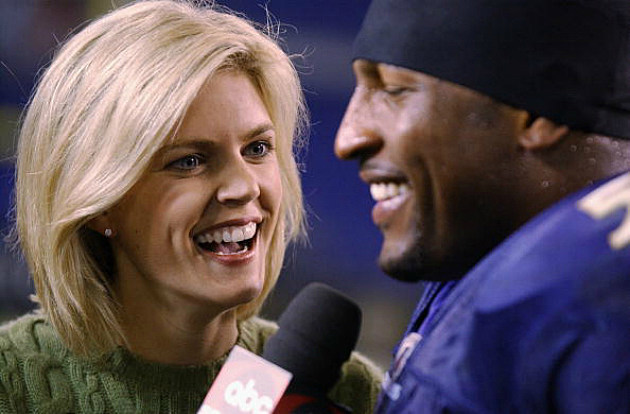 Melissa Stark interviews Ray Lewis