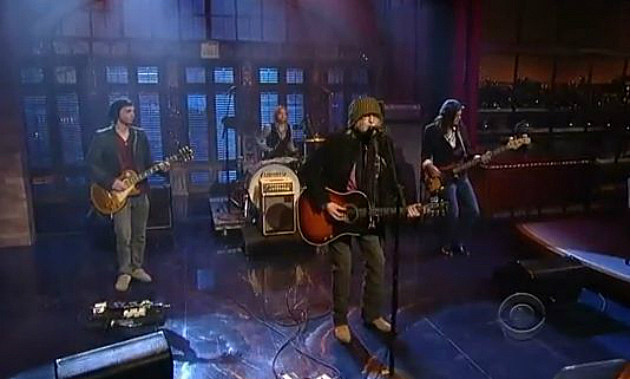 Ray Wylie Hubbard - Mother Blues - David Letterman 1-9-13