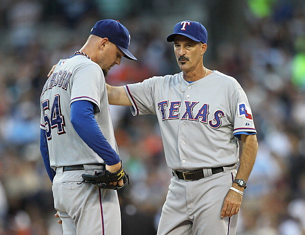 Texas Rangers Mike Maddux & Matt Harrison