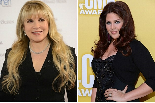 Stevie Nicks and Hillary Scott