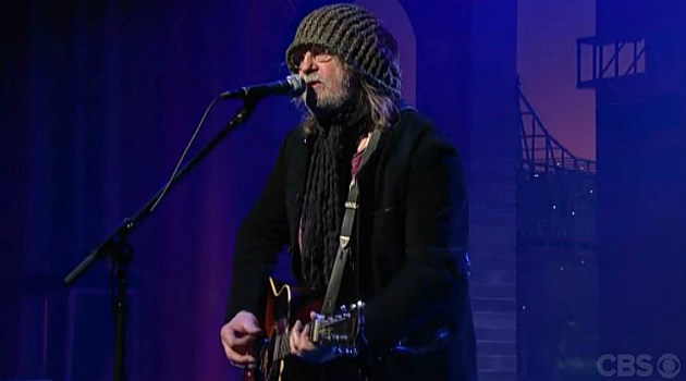 Ray Wylie Hubbard performs on The Late Show With David Letterman
