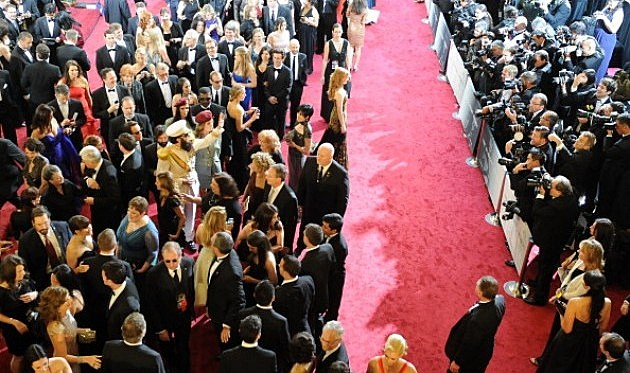 The red carpet of the 84th Annual Academy Awards