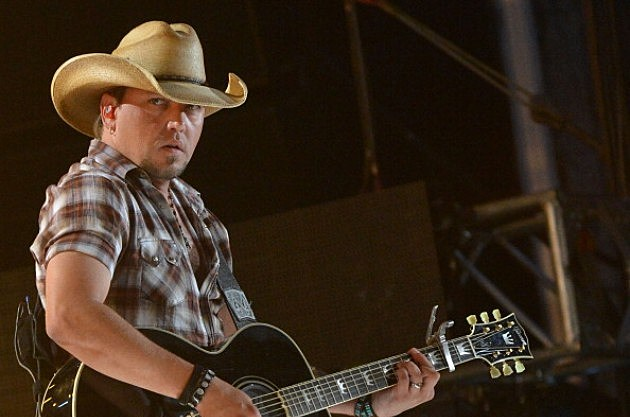 Jason Aldean performs during the 2012 CMA Music Festival