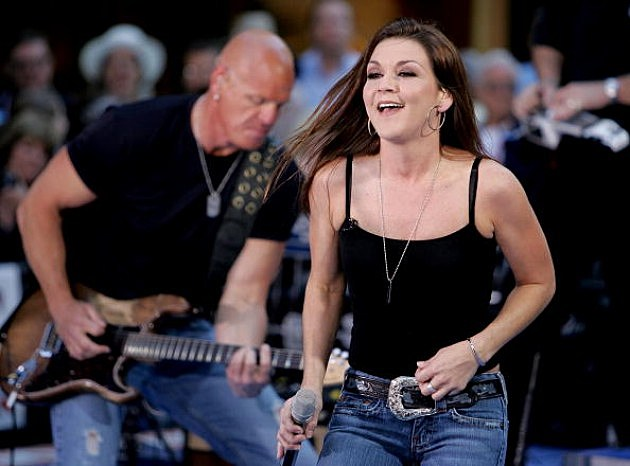 Gretchen Wilson performs on stage