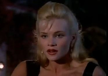 "Amy Locane as ""Sandy Harling"" on Melrose Place"