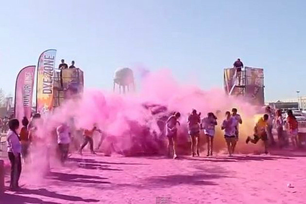 run or dye race