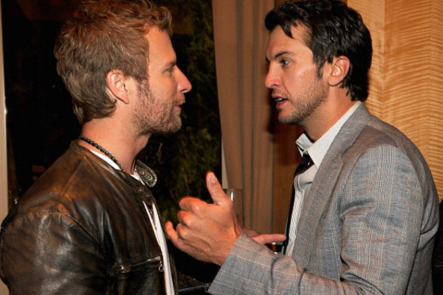 Dierks Bentley and Luke Bryan