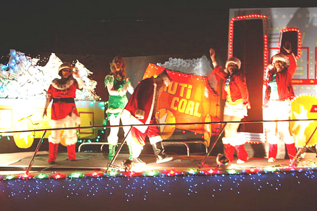 Lighted Christmas Parade Float II
