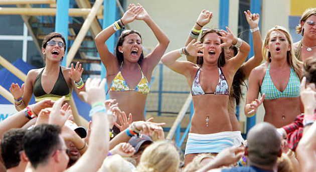 Spring Breakers in Cancun