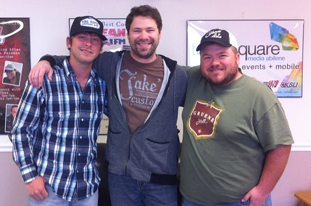 Zack McGinn (left) and Wes Hall (right) join Dave in the KEAN studio