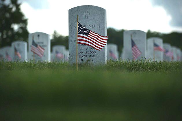 Memorial Day at Veterans Cemetary