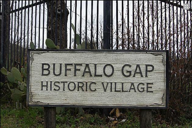 Buffalo Gap sign