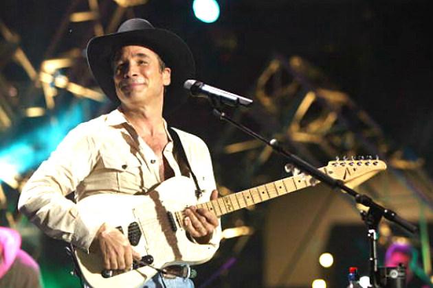 Clint Black Playing guitar