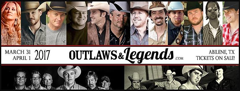 Outlaws and Legends via Facebook
