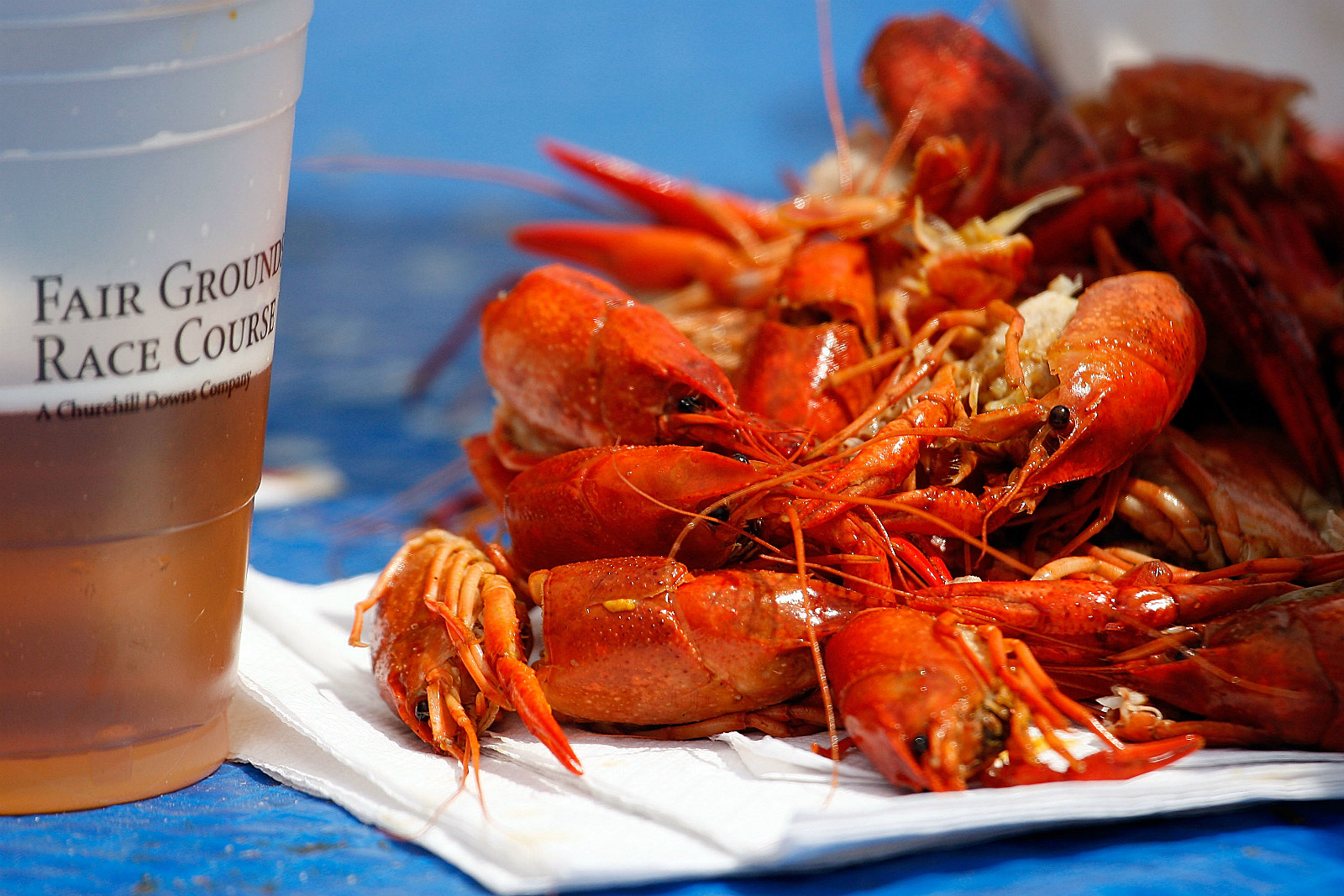 Crawfish and a Beer